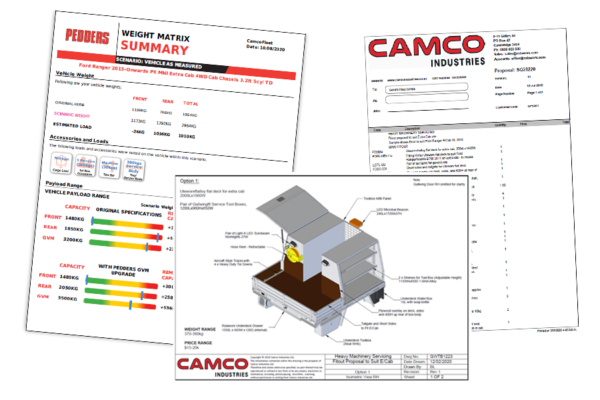 CamcoFleet Sample Fitout Pack