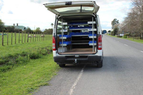 Electricians van with Versi Shelving 1