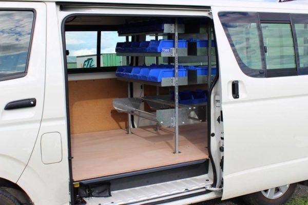 Electricians van with Versi Shelving 2