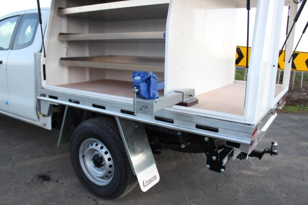 Gullwing 3-door Gullwing fitted to Uteworx flat deck with internal fitout for Parks division 3