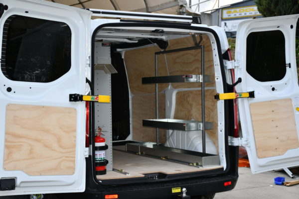 Ford Transit Cleaners Van Fitout