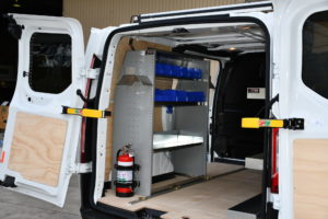 Ford Transit Cleaners Van