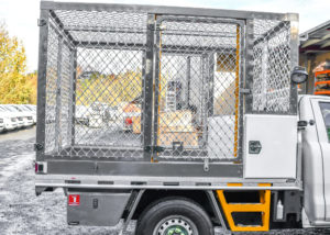 Litter Collection Cage Ute Fitout