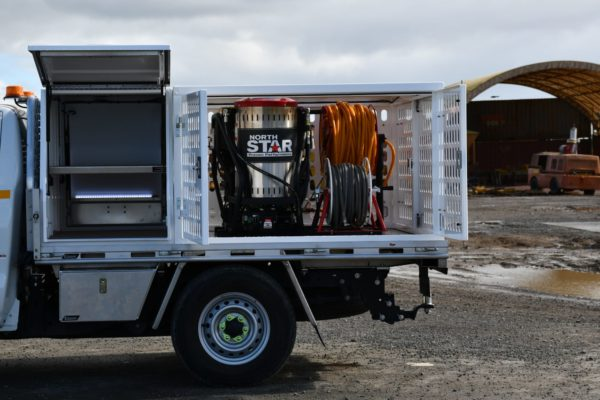 Steam Cleaner ute fitout