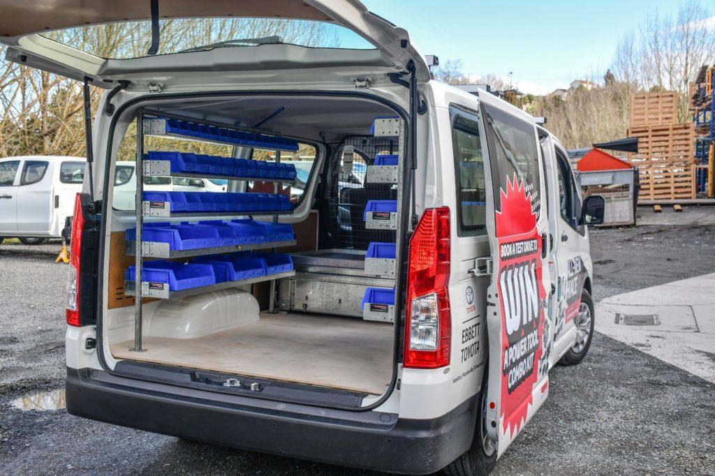 The Plumbers Van Fitout