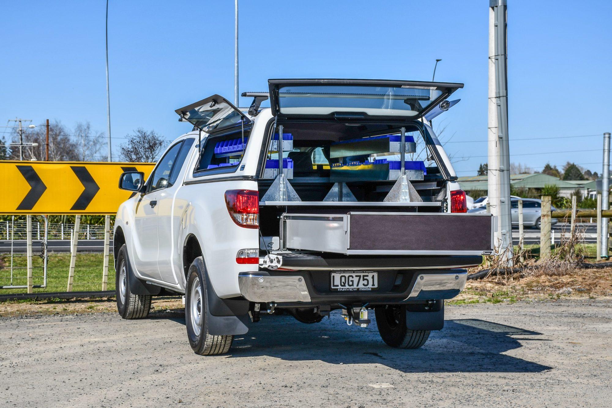 Mazda BT-50 Tradies Fitout