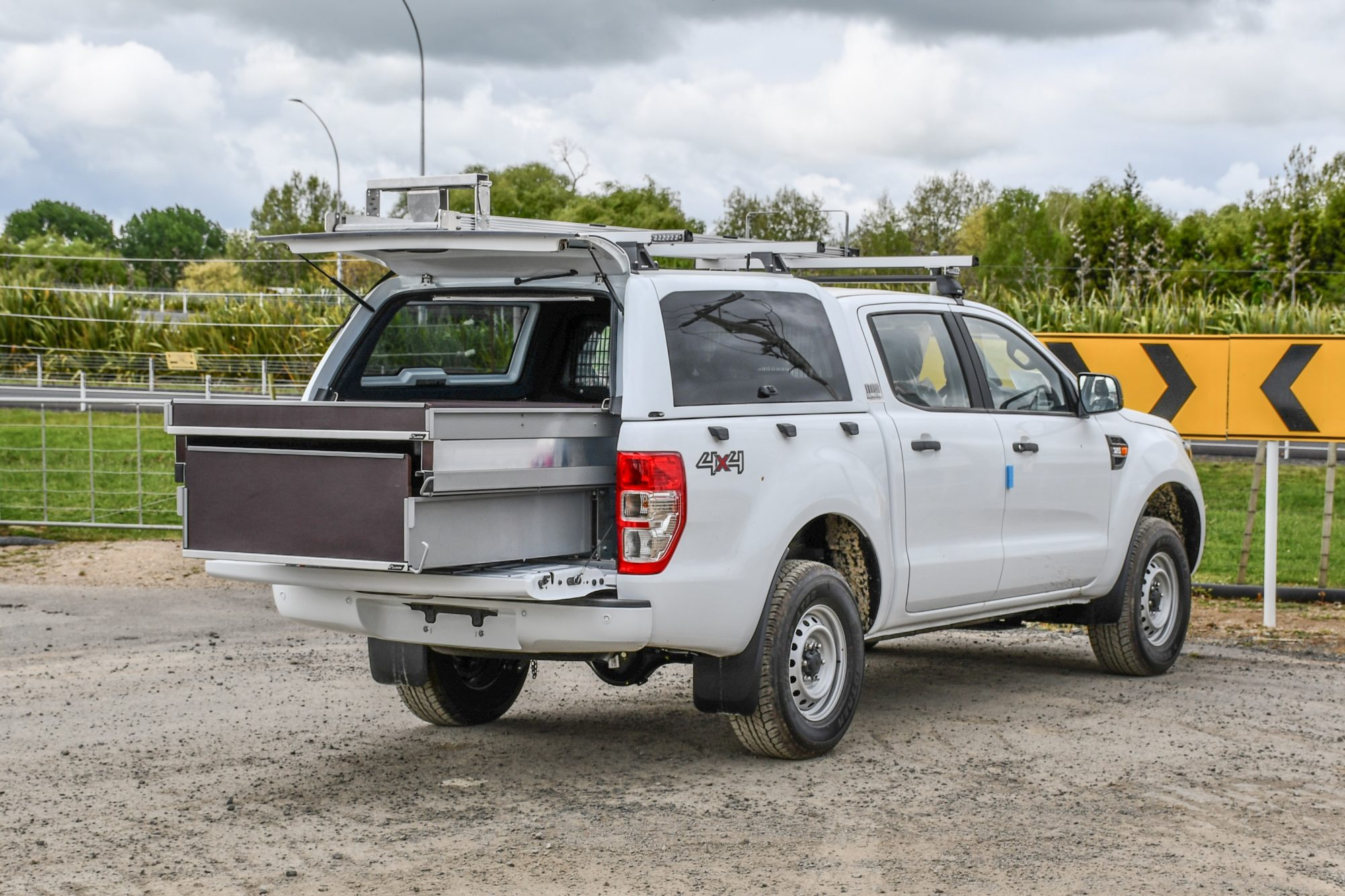 Ford Ranger Arborists Fitout