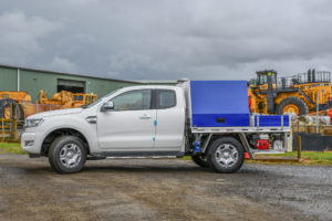 Heavy Machinery Servicing Ute Fitout
