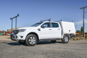 Ford Ranger Plumbers Fitout
