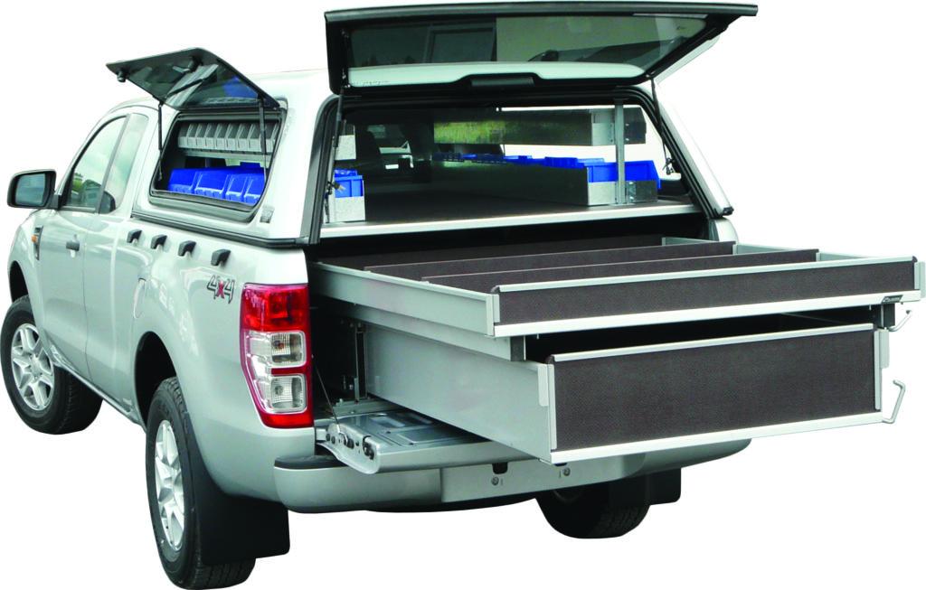 Ford Ranger Ute Drawers