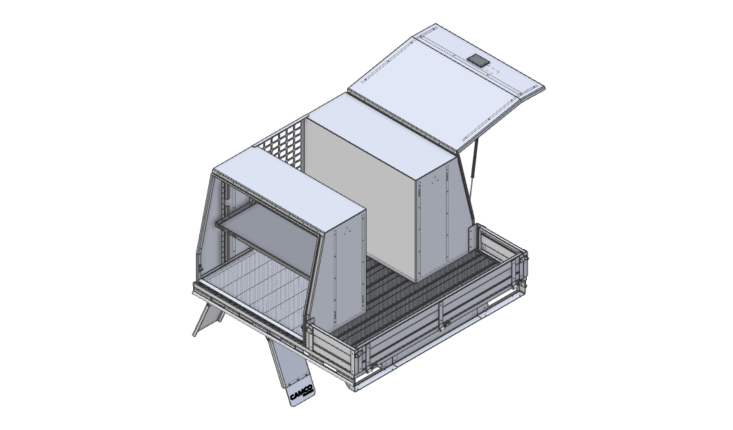 Flat Deck and Toolboxes