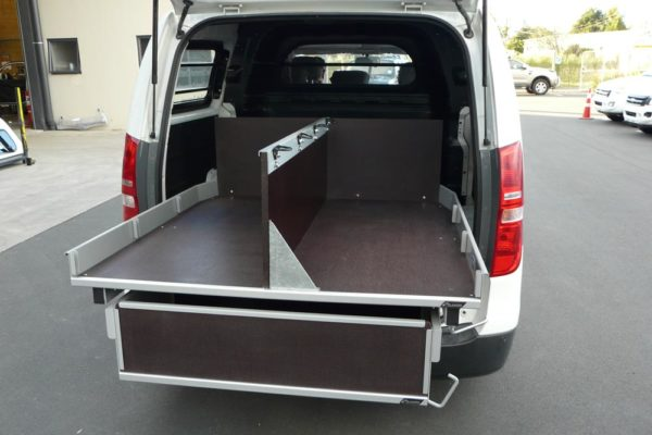 Accident response vehicle - upstand holds body board 1