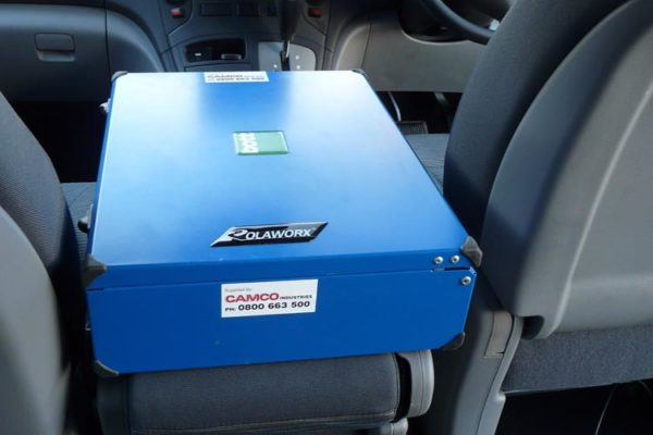 Accident response vehicle - walkie talkie box 2