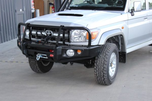 Bullbar and winch