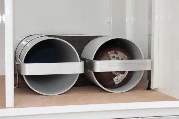 Emergency response vehicle 3 - BA Cylinder holders