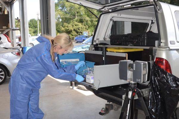 ESR Forensic CSI team