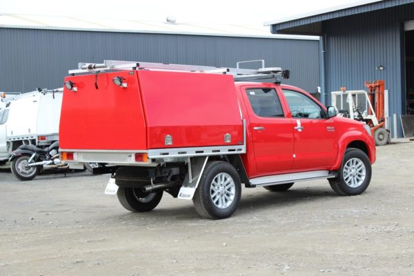Spill response vehicle 1