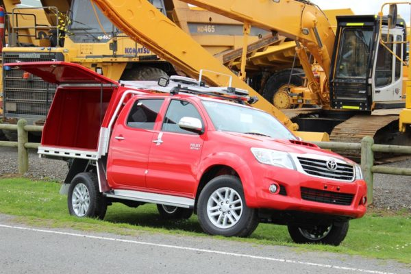 Spill response vehicle 2