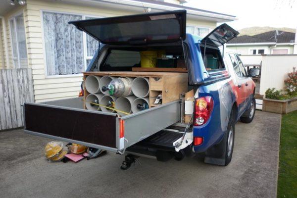 Volunteer support vehicle 5