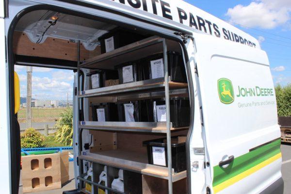 Ford Cargo parts van - centre of van 1