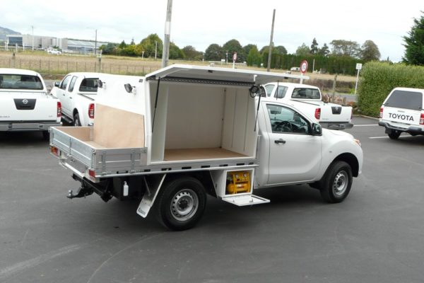 Underdeck compressor compartment for Mazda BT50 and Ford Rangert PX Single cab