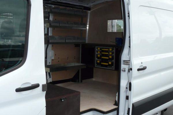 Workbench in large van 2