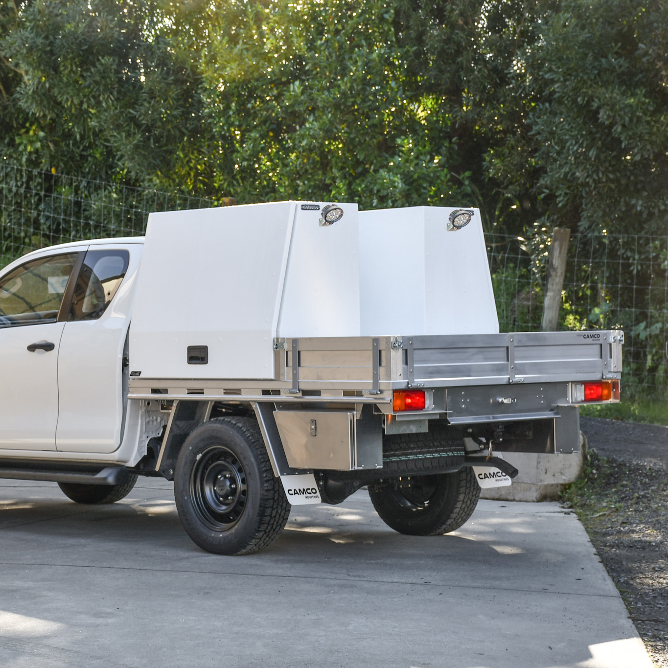 Mechanics Ute Fitout