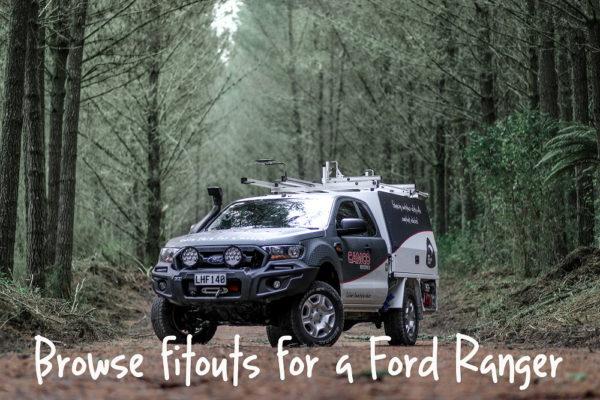 Ford Ranger Ute Fitouts