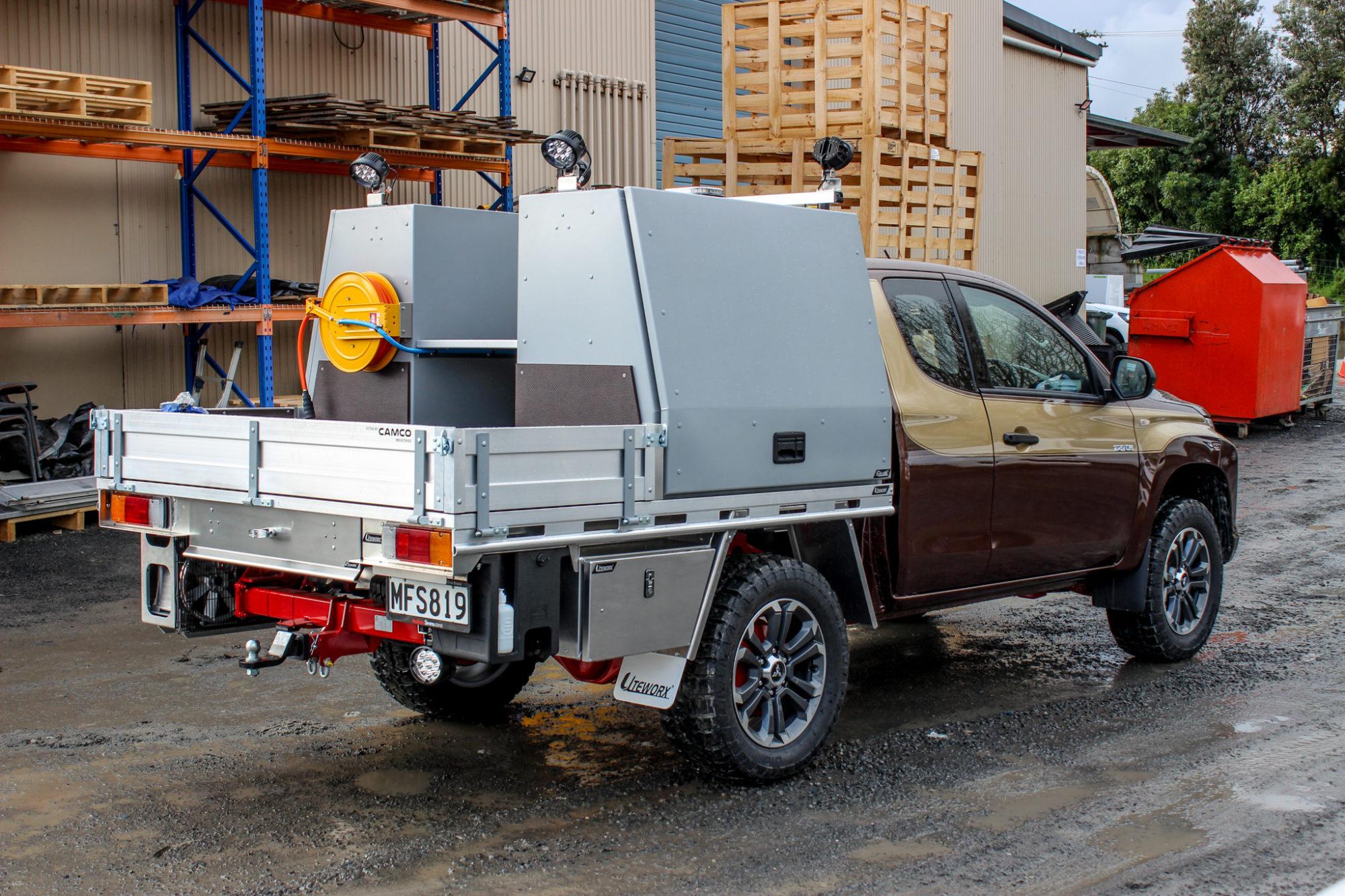 Mitsubishi Triton Servicing Fitout