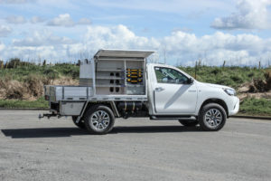 Hilux Box Body Fitout