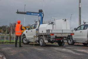 Water Reticulation Ute Fitout