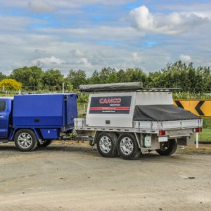 Flat Deck and Service Body Trailers