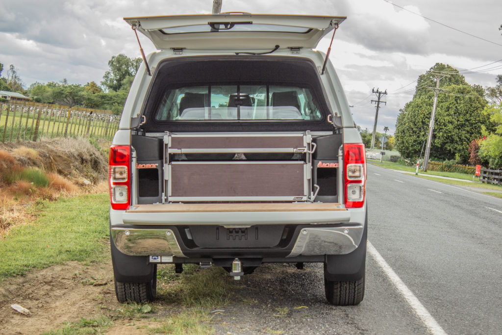 Ford Ranger Double Inline Drawer Fitout