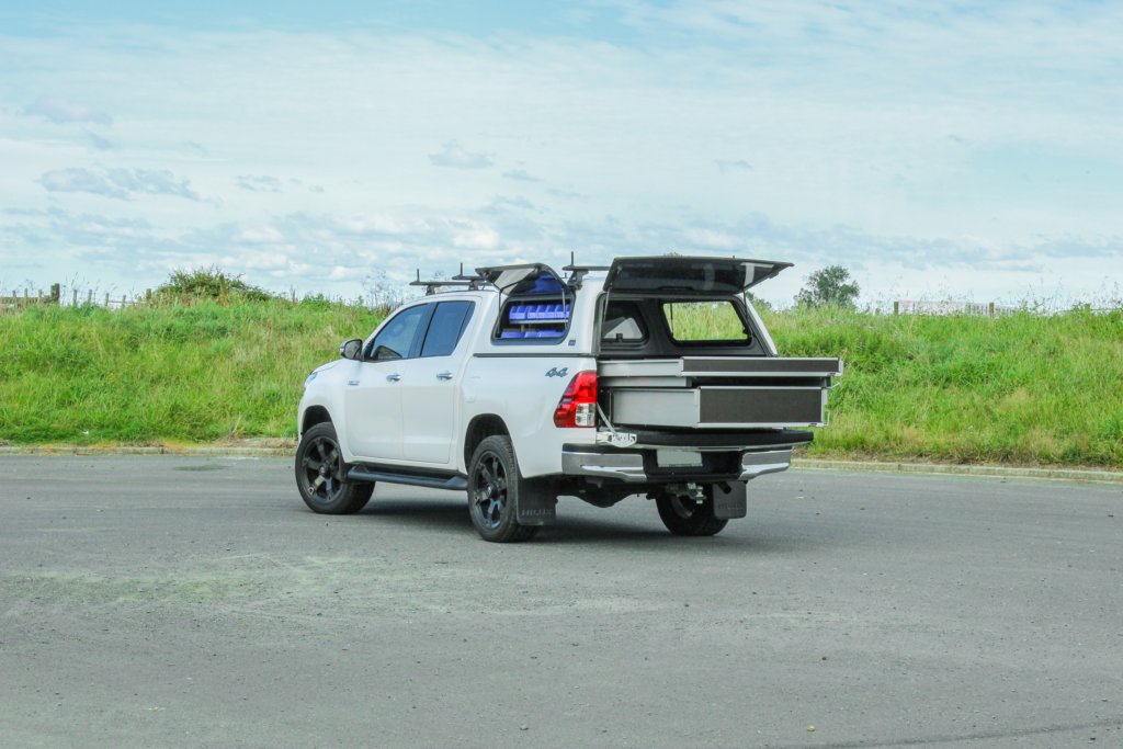 Toyota Hilux Fitout - Ute Drawers
