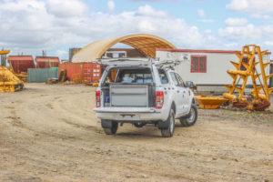 Ford Ranger Aluminium Drawer Fitout
