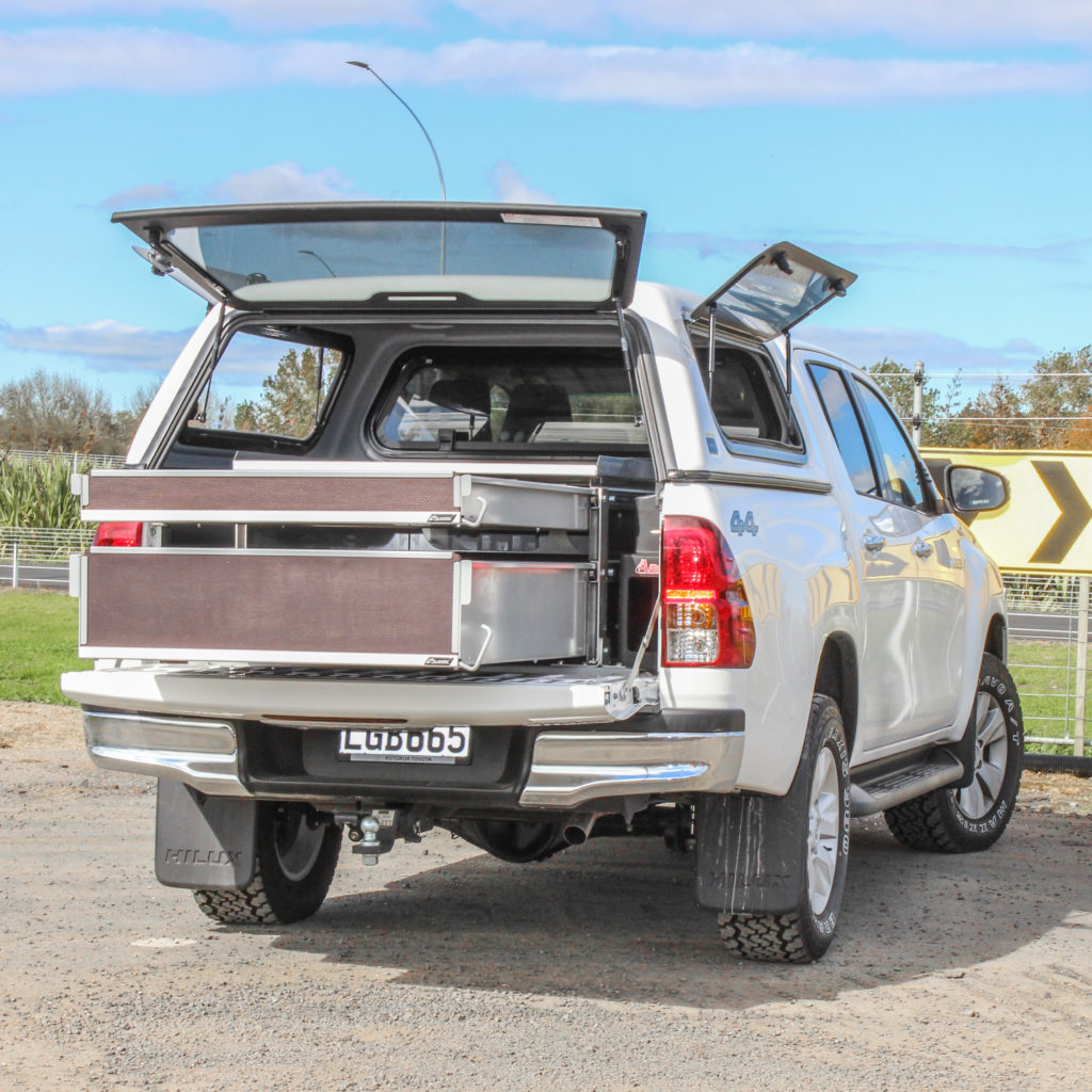 Toyota Hilux Drawers Fitout