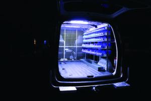 Van Fitout Internal Lighting