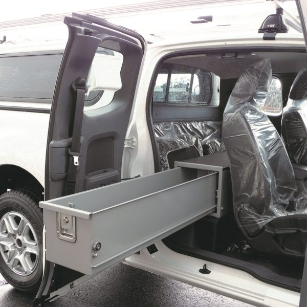 In-cab drawer