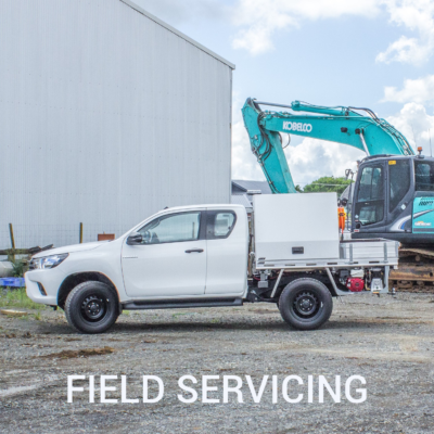 Field Servicing ute fitouts nz