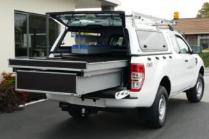 Double Drawer in Ford Ranger