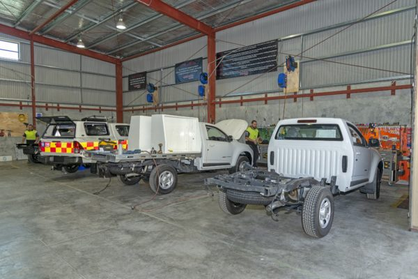 Ute Fitout Install