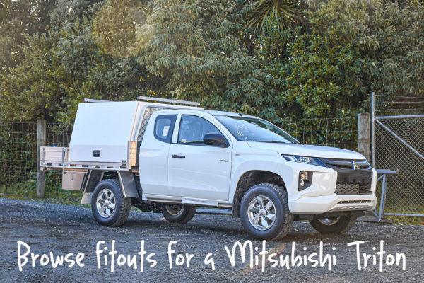 Mitsubishi Triton Ute Fitouts