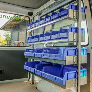 Bin Shelving & Small Parts Storage