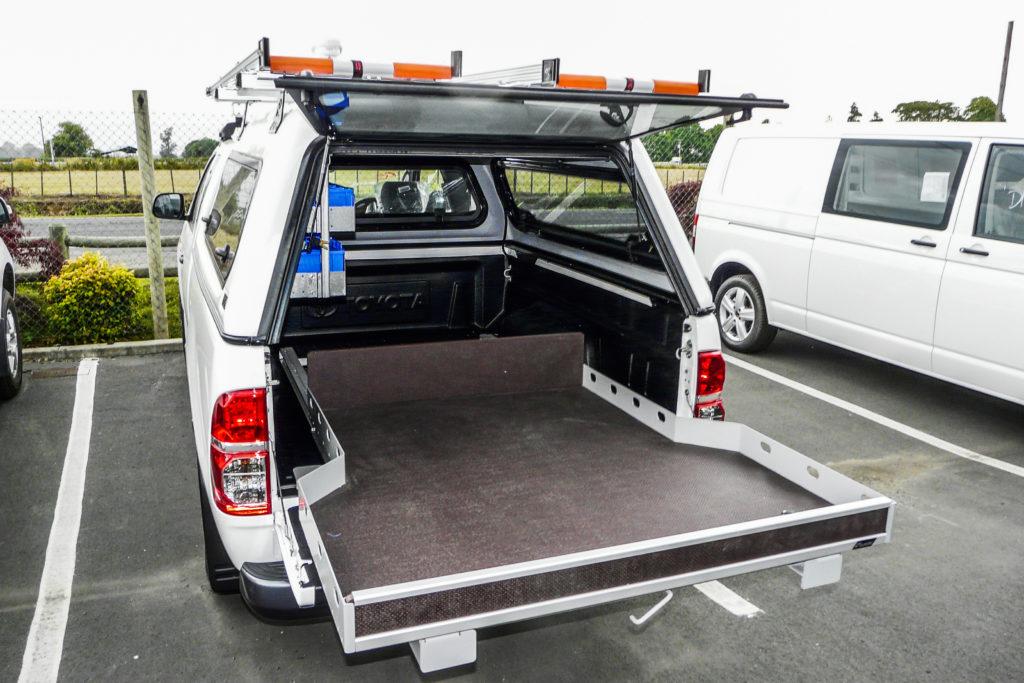 Toyota Hilux Floor Slide