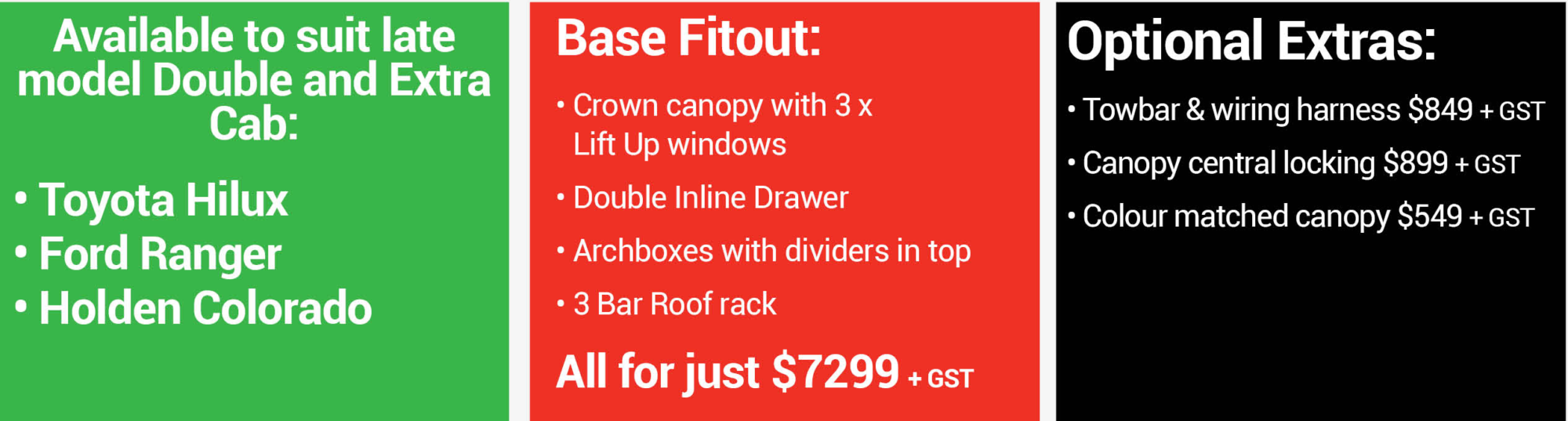 CamcoTrade Ute Fitout