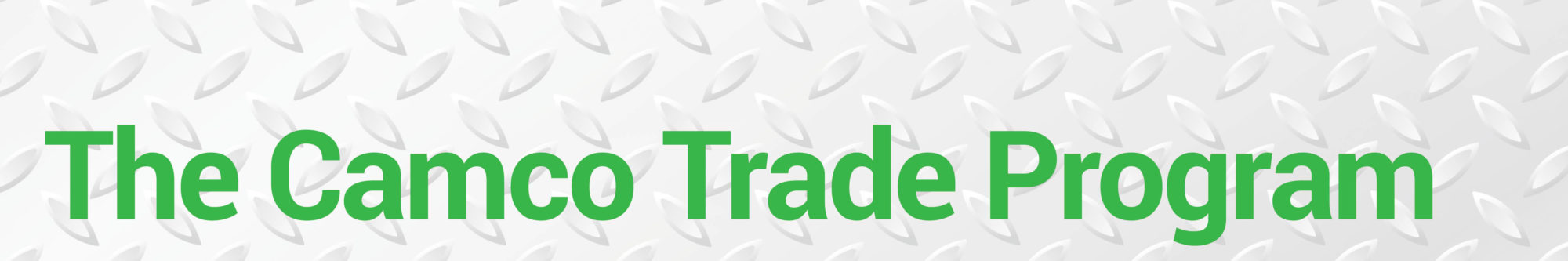 The CamcoTrade Program