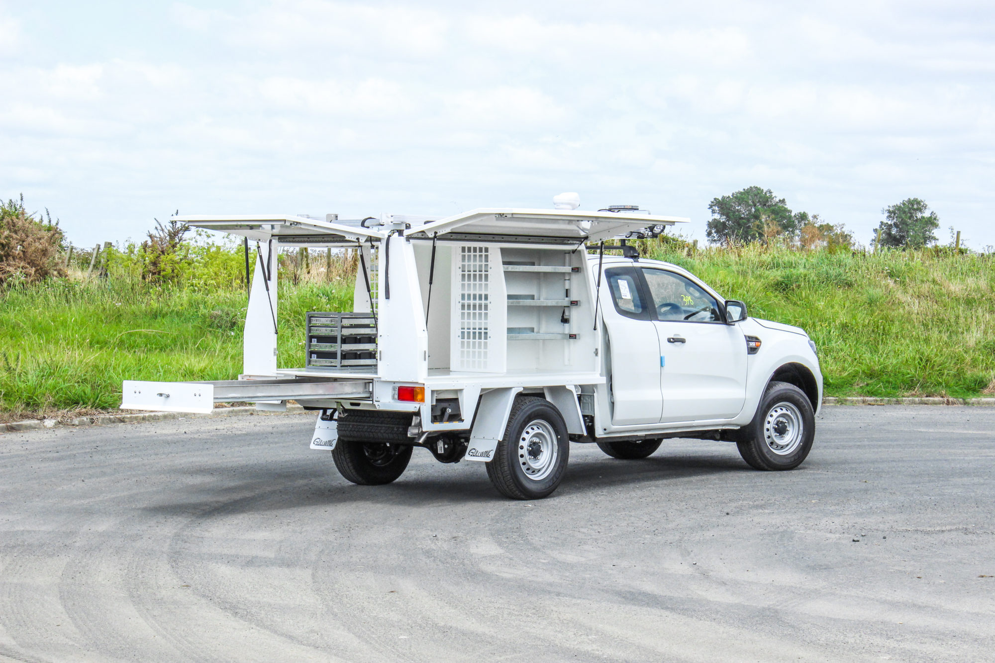 Ford Ranger Fitout - Power Industry
