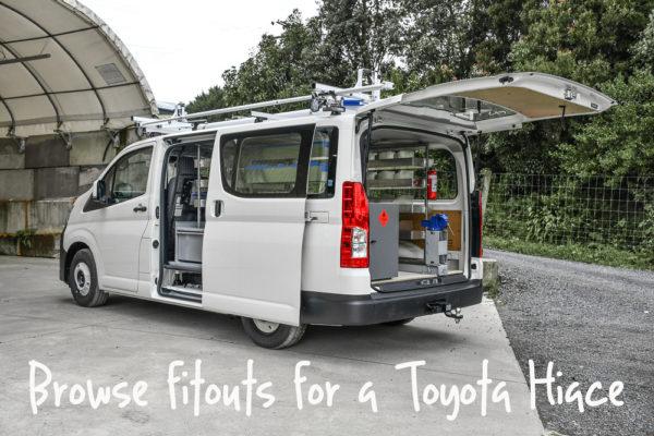Toyota Hiace Van Fitouts