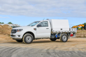 Tractor Servicing Ute Fitout NZ