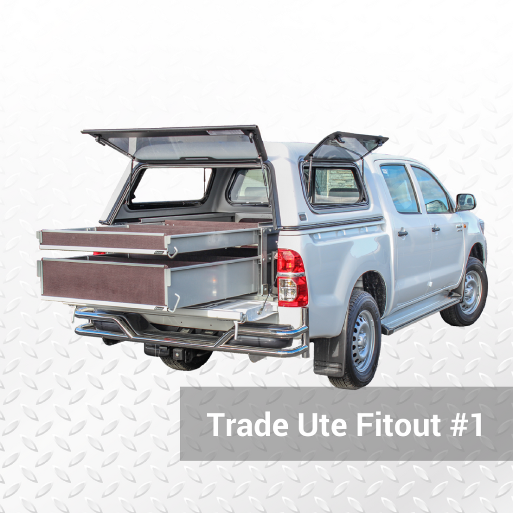 Trade Ute Fitout #1